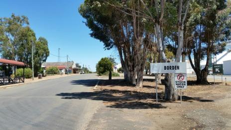 the road to Jerramungup