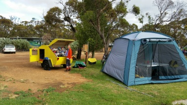 the camp at ravensthorpe